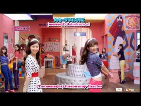 SNSD Gee Japan versión sub español