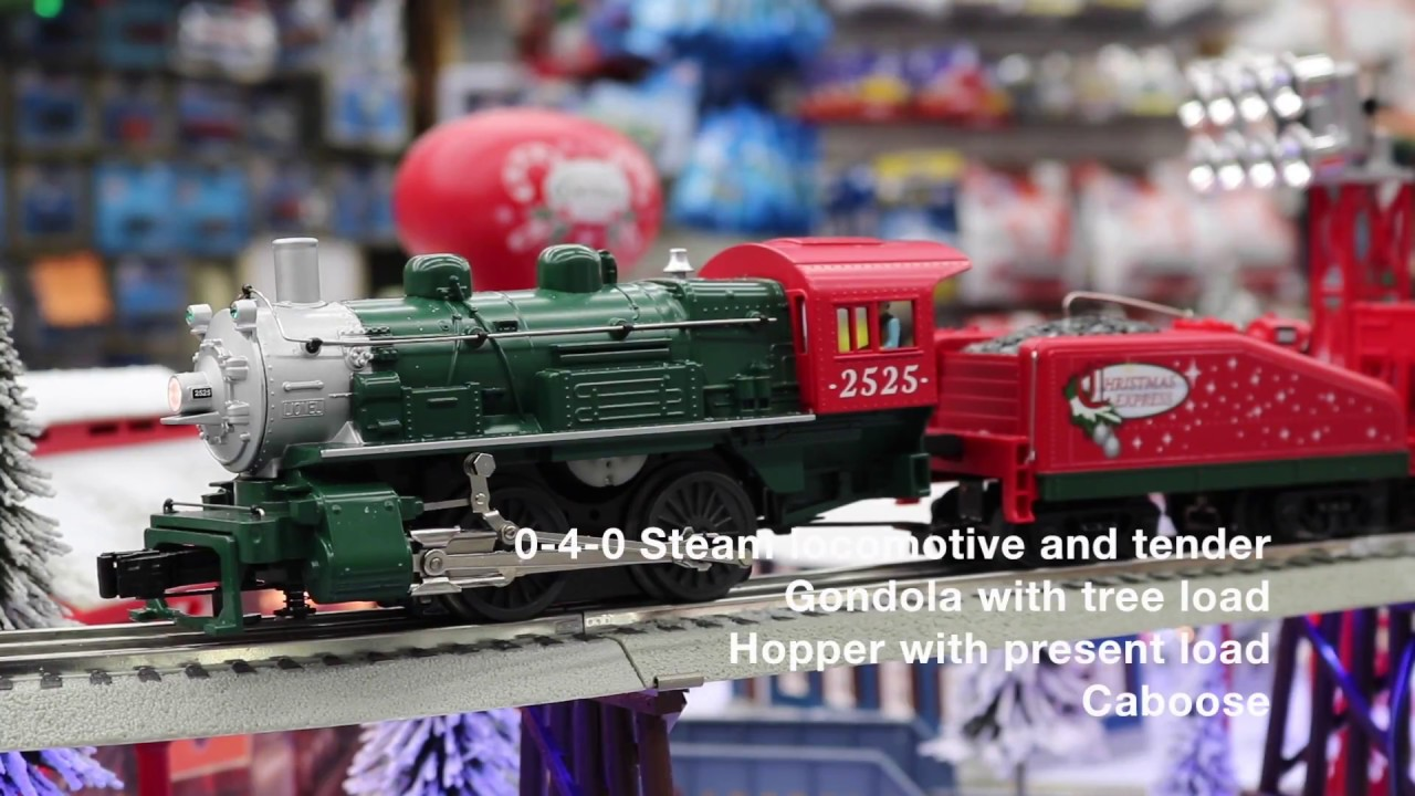 Lionel #6-82982 Christmas Express LionChief RTR Set With Bluetooth