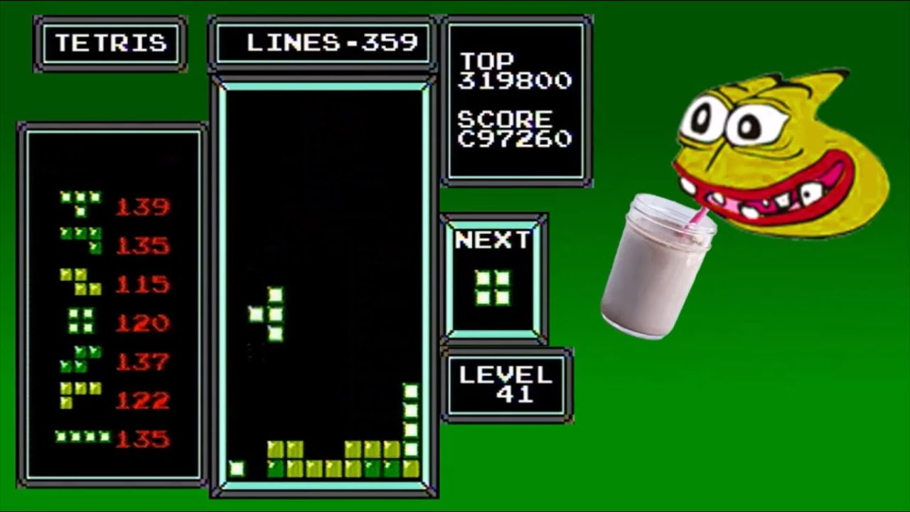 Download NES Tetris - First Ever Level 44