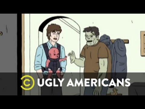 Ugly Americans - Como cuidar un bebe demonio