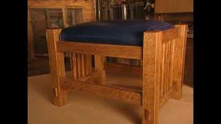 Woodworks Episode 106 Mission Style Ottoman Video Preview