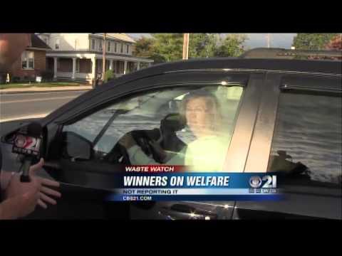 Lottery Winner on Welfare