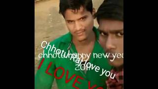 Chhotu Raj Kumar love you kiss