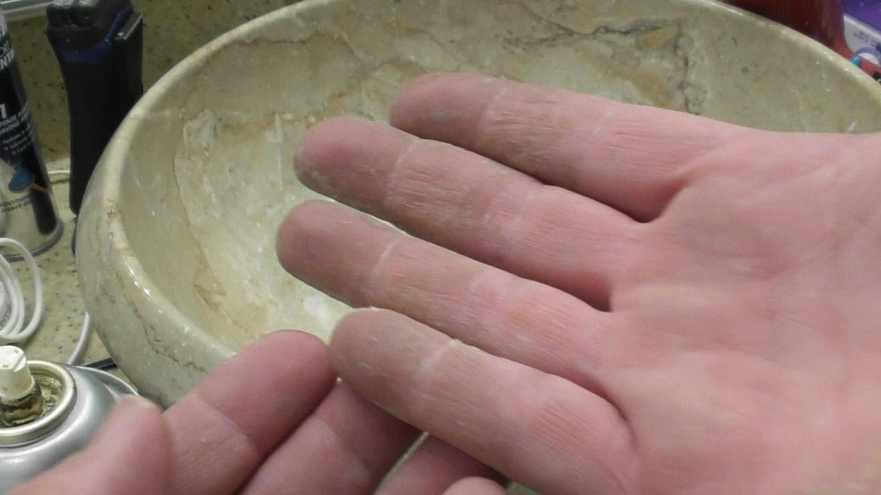 How To Remove FOAM Sealant From your hands  WHAT WORKS