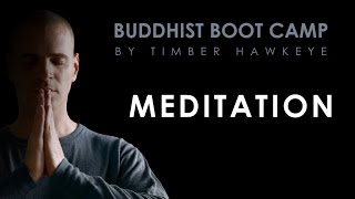 Meditation (maintaining inner peace, staying in control, calm and collected)