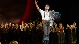 Carlos Acosta's final main stage curtain call as Principal Guest Artist of The Royal Ballet