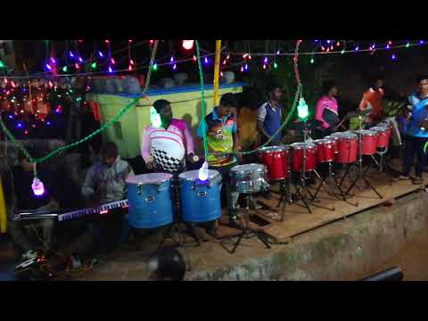 Pratham tula vandito... song played.🎹🥁 by Jay Malhar Musical Group Burondi Koliwada