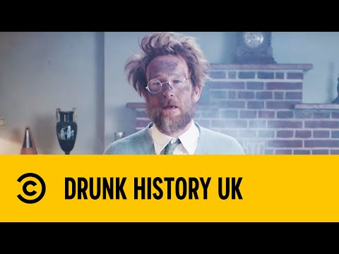 Paul Kaye Invents Television  Drunk History  Comedy Central