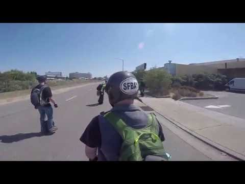 San Francisco Bay area Electric unicycle group ride