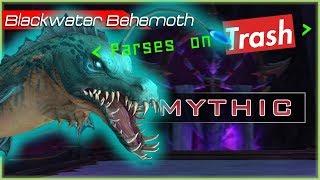 MYTHIC BLACKWATER BEHEMOTH | BM HUNTER POV  |  PARSES ON TRASH | NEW Patch 8.2 WoW BfA RAID