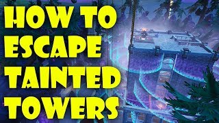 How to Complete Escape Tainted Towers by Shride (ALL COINS) | Fortnite Creative Guide