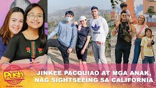 Jinkee Pacquiao at mga anak, nag sight-seeing sa California   Push Most Wanted