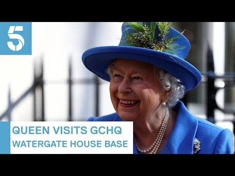 Queen inspects GCHQ on 100th anniversary | 5 News