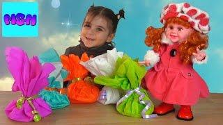 Learn Colors for Children Surprise Dolls POUPEES tojinebi Viscavlot perebi სათამაშო თოჯინები