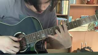 """How to play """"come"""" (Adrianne Lenker) // chords, picking pattern, tuning in description"""