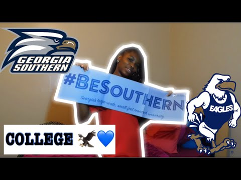 MY COLLEGE ACCEPTANCE | Georgia Southern University