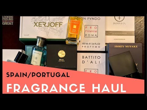 Spain + Portugal Fragrance Haul, Perfume Haul | My Trip + Fragrances I Brought Back