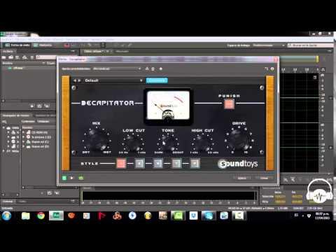 Excitador De Armónicos para Voces - Decapitator Soundtoys VST