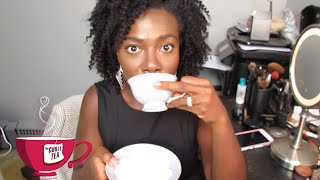 How To Get Your Natural Hair To Hang Down? #TheCurlyTea