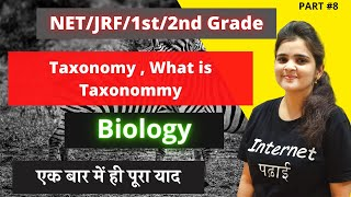 Taxonomy | Taxonomy kya hota hai? | what is the meaning of taxonomy |