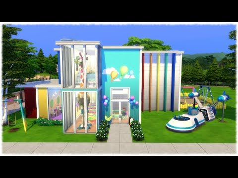 The Sims 4: Speed Build // ELEMENTARY SCHOOL // NO CC
