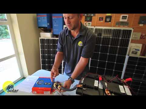 AM Solar: A Demo of the Victron BMV-712 Battery Monitor for Your RV, Skoolie or Van