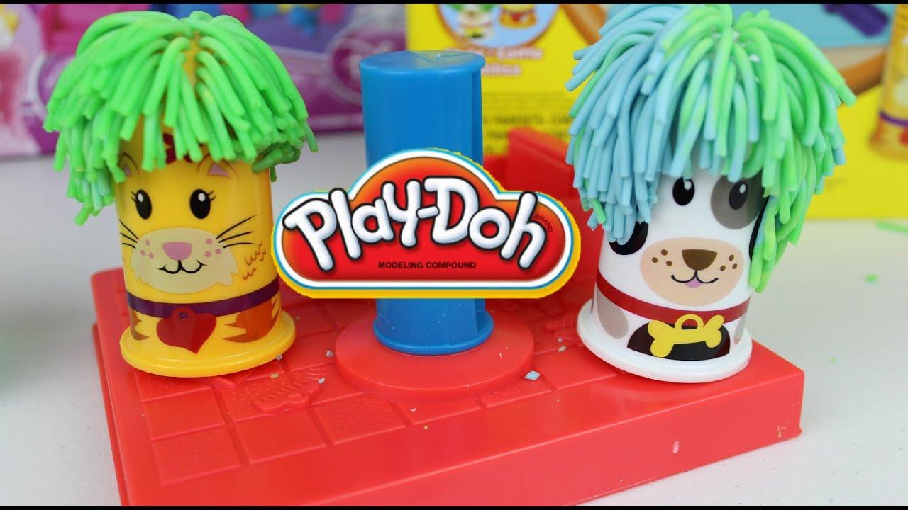 plastilina play doh peluqueria para en espaol mundo de juguetes youtube