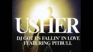 Usher Ft.Pitbull - Dj Got Us Falling In Love (Audio)