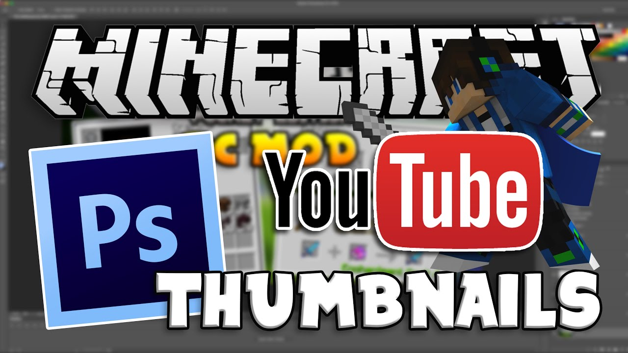 how to make minecraft thumbnails mac