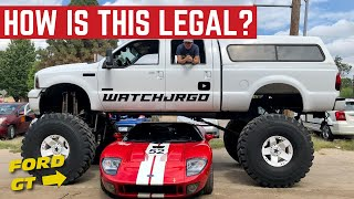 Download How Is This MONSTER TRUCK Ford F-350 Even LEGAL? Mp3 and Videos
