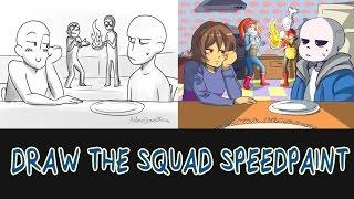 Draw the Squad #1 (Undertale- Speedpaint)