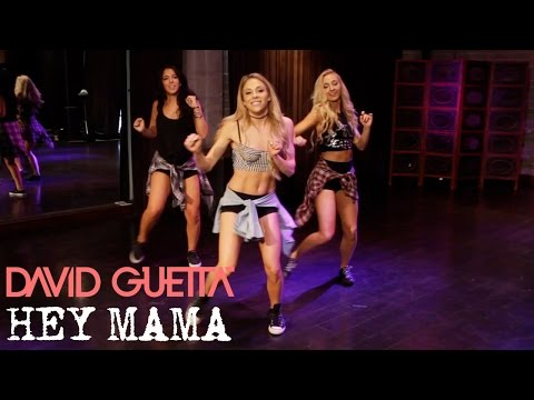 David Guetta - Hey Mama ft. Nicki Minaj & Afrojack (Dance Tutorial)