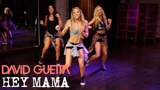 David Guetta Hey Mama ft. Nicki Minaj & Afrojack (Dance Tutorial)