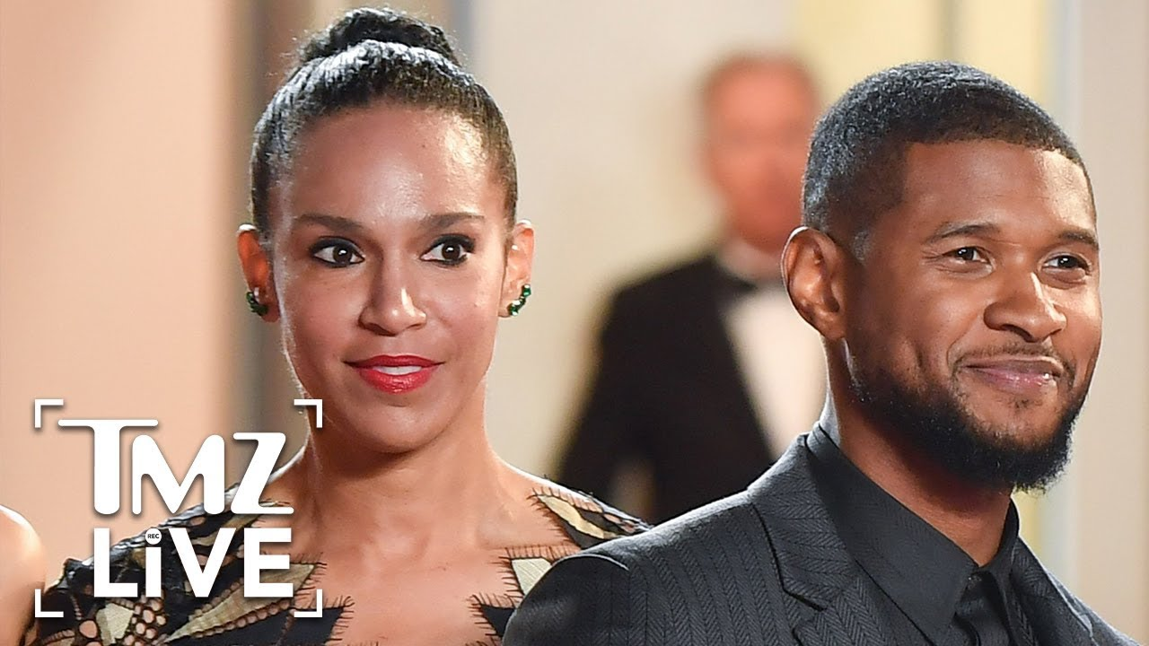 Usher's Wife Has a Message for His Herpes Accusers | TMZ Live