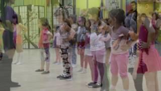 Восточные танцы для девочек 4-7 лет. Открытый урок.