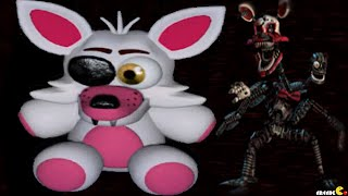 Five Nights at Freddy's 4 Nightmare Mangle's plush Toy Halloween Edition FNAF 4 Night 2 Jumpscare!