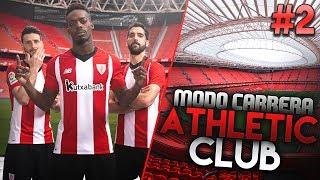 FICHAJAZO Y PRIMER PARTIDO DE LA LIGA! | FIFA 19 Modo Carrera: Athletic Club #2
