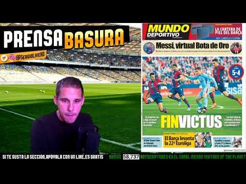 ADIOS AL INVICTO DEL BARÇA + SALAH BATE UN RECORD HISTORICO EN LA PREMIER LEAGUE #PRENSABASURA