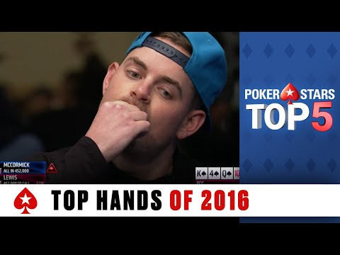 Top Poker Hands of 2016 | PokerStars