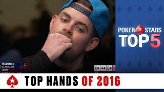 Top Poker Hands of 2016 | PokerStars