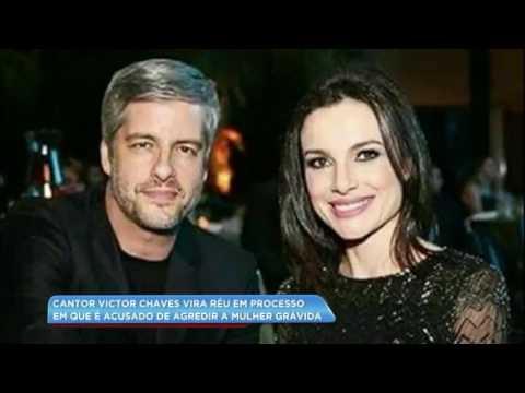 Hora da Venenosa: cantor Victor vira réu após agredir a mulher grávida
