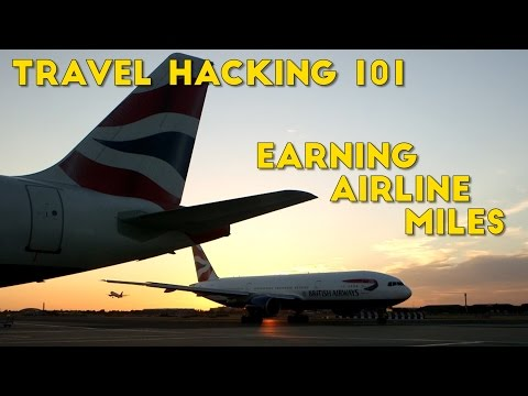 How to Earn a HUGE Amount of Airline Miles From Credit Cards