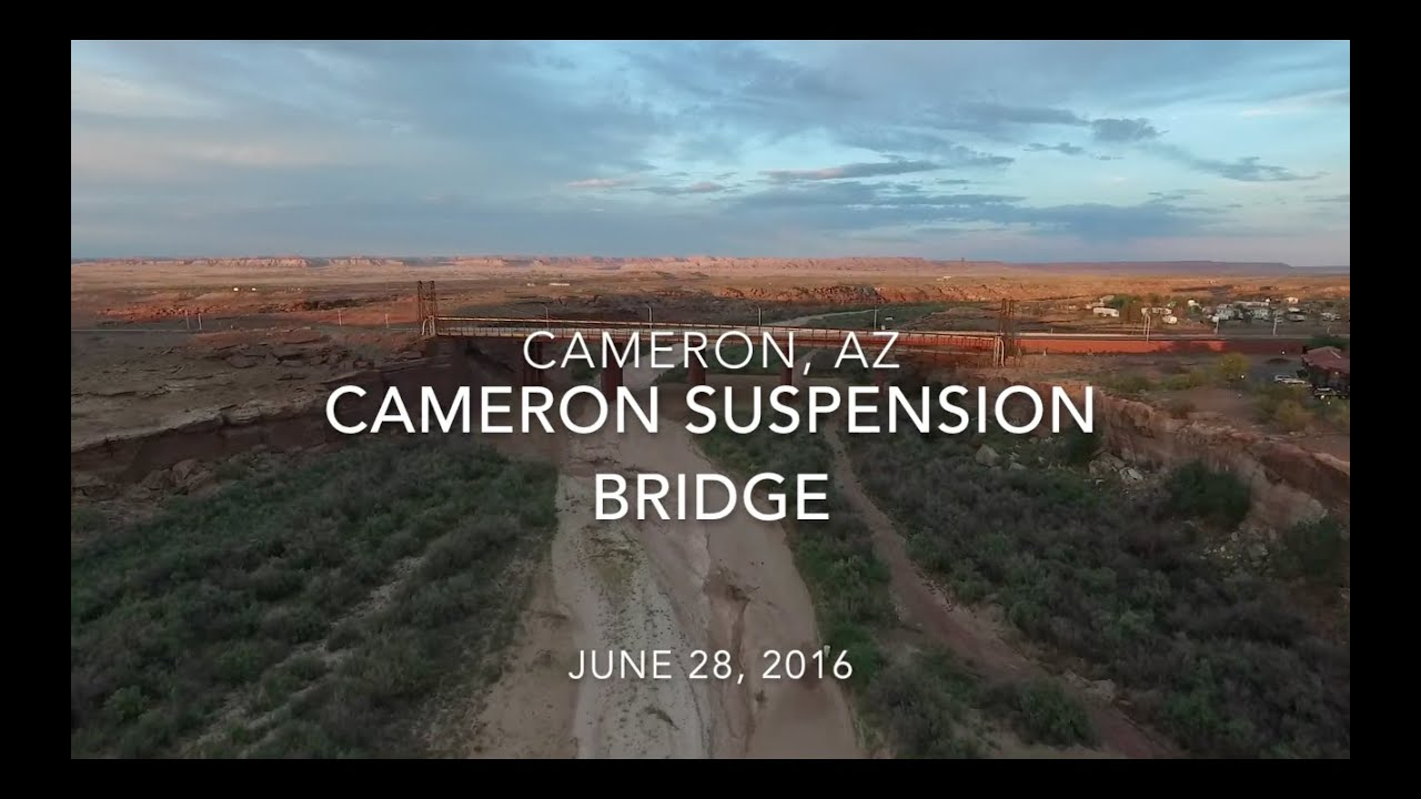 Cameron Suspension Bridge