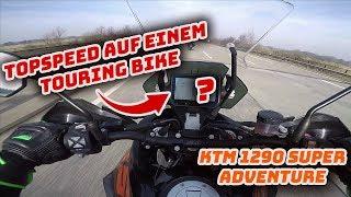 TOP SPEED Touring Bike - Probefahrt KTM 1290 Super Adventure S - MotoVlog