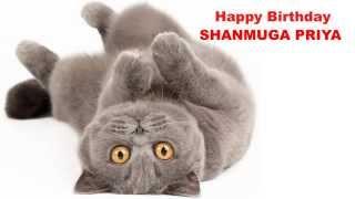 ShanmugaPriya   Cats Gatos - Happy Birthday