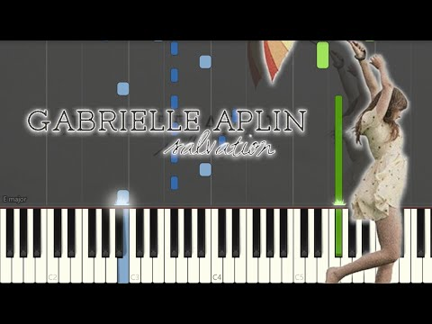 Gabrielle Aplin - Salvation (Piano Tutorial By Javin Tham)