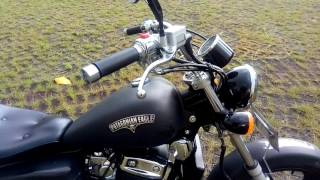 Benelli Patagonian Eagle 250 with custom muffler thumbnail