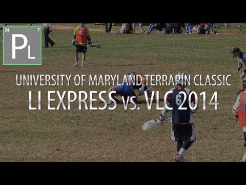LI Express Vs. VLC 14 - Maryland Terrapin Classic | Lacrosse Highlights