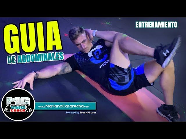 GUÍA DE ABDOMINALES - MARIANO CATARECHA - www.MarianoCatarecha.com