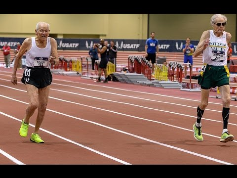 99-year-old runner beats 92-year-old in impressive photo finish